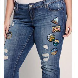 Torrid Road Trip Boyfriend Jeans